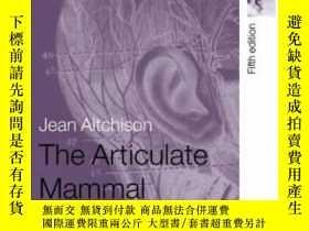 二手書博民逛書店The罕見Articulate MammalY364682 Jean Aitchison Routledge