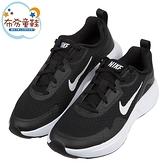 《布布童鞋》NIKE_WEARALLDAY黑色大童成人運動慢跑鞋(23~25公分) [ P1L816D ]