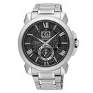SEIKO PREMIER 人動電能萬年曆腕錶 7D56-0AE0D SNP141J1