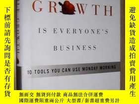 二手書博民逛書店原版罕見Profitable Growth Is Everyon