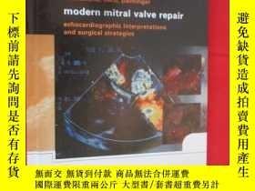 二手書博民逛書店Modern罕見Mitral Valve Repair: Ech