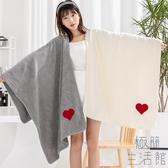 浴巾吸水速干不掉毛可穿加大純棉家用情侶一對【極簡生活】