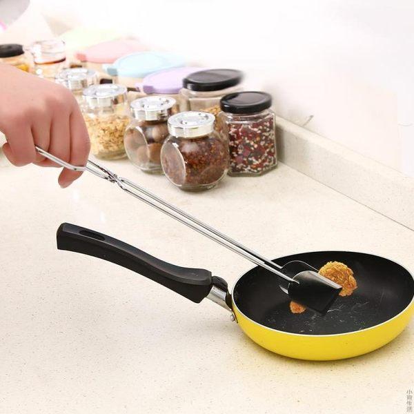 不銹鋼燒烤夾子木炭夾鉗面包夾食品夾子牛排夾油炸剪刀式烘焙夾子JRM-1580