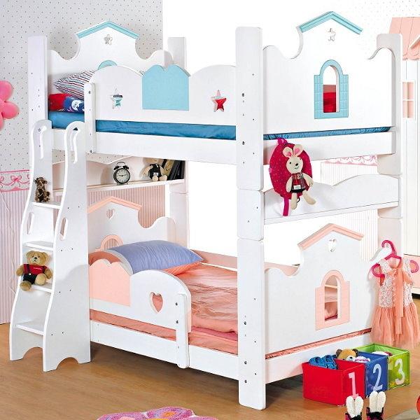 雙層床 AM-359-1 愛丁堡多功能雙層床(不含床墊) 【大眾家居舘】