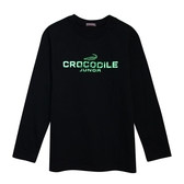『小鱷魚童裝』LOGO銀蔥印花T恤(14號~20號)556401