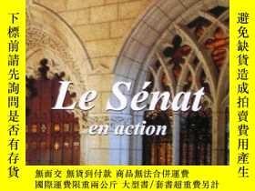 二手書博民逛書店At罕見Work in the Senate---加拿大參議院宣
