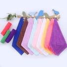 Qmishop 超細纖維吸水毛巾 小方巾 纖維布 毛巾 擦手巾 擦車 洗車【J2374】