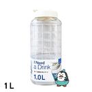 樂扣樂扣 PET水壺1L 白色 : LOCK&LOCK HAP810