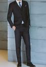 找到自己品牌 韓國男 修身西裝 三件式西裝外套 成套西裝 西裝外套 外套+背心+褲子