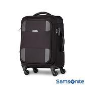 Samsonite 新秀麗 21吋VOX 靜音輪 TSA軟殼布面行李箱 (黑)
