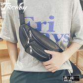 『潮段班』【HJ0A0005】日式風格鐵鍊輕便小腰包手機包零錢包情侶包