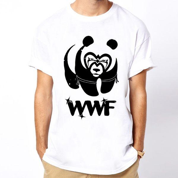 WWF Panda男女短袖T恤-2色 熊貓熊動物趣味幽默 成人Gildan亞洲版型