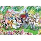 【台製拼圖】HPD01000-079 Mickey Mouse&Friends 花園婚禮拼圖 (1000pcs) 盒裝拼圖