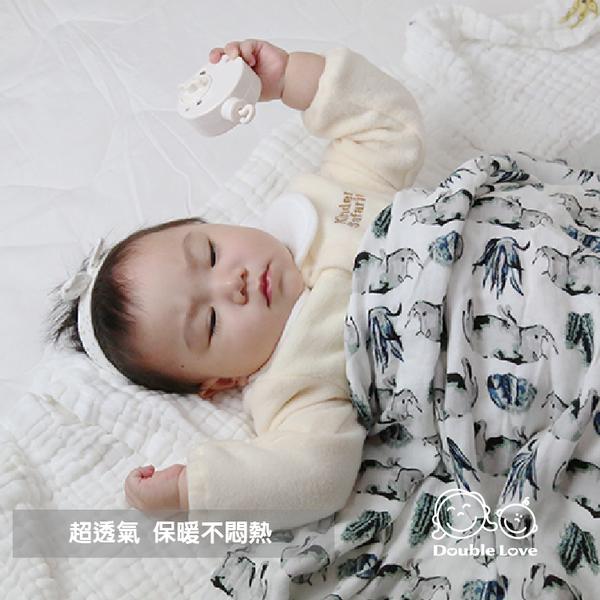 100% 六層紗 竹纖維 紗布包巾 被毯母嬰同室 手推車毯 嬰兒床單 防紫外線 童被 新生兒被【JA0087】