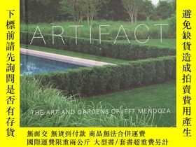 二手書博民逛書店Artifact:罕見The Art and Gardens o