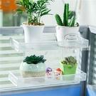 辦公桌掛架鐵藝多層置物架窗台收納盆栽架辦公室桌面多肉植物花架  【優樂美】