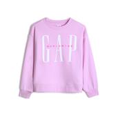 Gap女童徽標LOGO上衣544635-薰衣草色