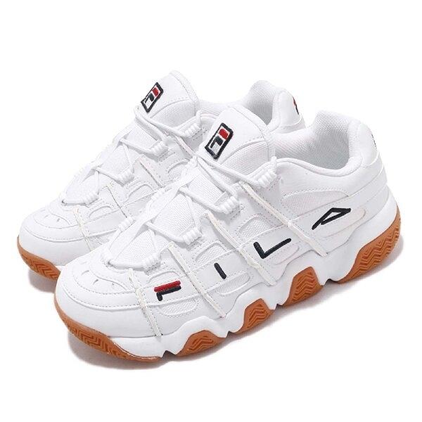 FILA BARRICADE XT 97女款白色復古老爹鞋-NO.4B007U119