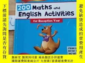 二手書博民逛書店200罕見Maths and English Activities for Reception YearY15