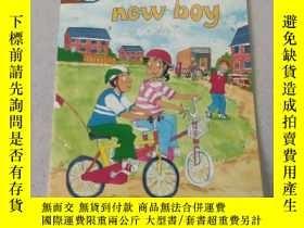 二手書博民逛書店the罕見new boy:新來的男孩Y212829