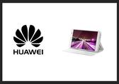 *全館免運*HUAWEI MediaPad X1 / 榮耀X1 原廠 開窗式側掀站立式皮套(白色)