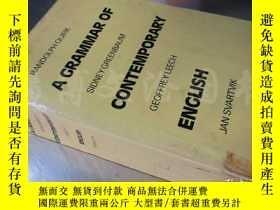 二手書博民逛書店A罕見Grammar of Contemporary English 【大32開 英文版】Y16472 Ran