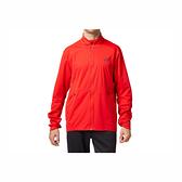 Asics [2011A854-600] 男女 運動 外套 亞洲版 防潑水 輕薄 防風 反光 休閒 穿搭 亞瑟士 紅