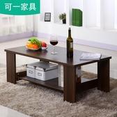 茶幾簡約現代客廳邊幾家具儲物簡易茶幾雙層木質小茶幾小戶型桌子☌zakka