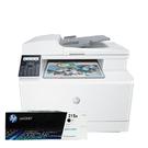 【搭215A原廠碳粉匣一黑】HP Color LaserJet Pro MFP M183fw 彩色雷射傳真複合機 上網登錄送好禮