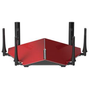 [富廉網] D-Link DIR-890LR 紅色 AC3200 雙核三頻Gigabit 無線路由器(含免費安裝)