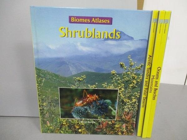 【書寶二手書T3/少年童書_EXZ】Shrublands_Mountains_Oceans and Beaches等_共4本合售