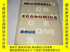 二手書博民逛書店MCCONNELL罕見ECONOMICS麥康奈爾經濟學【外文原版