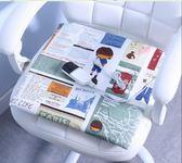 電熱坐墊 可拆洗加熱坐墊小電熱毯插電式家用女辦椅墊發熱暖墊褥子辦公室 俏腳丫