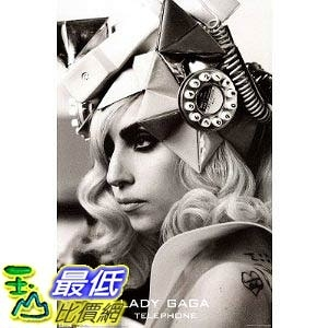 [美國直購] Lady Gaga 海報 -Lady Gaga Telephone Music Poster Print (Size:  22吋x34吋 Poster $411