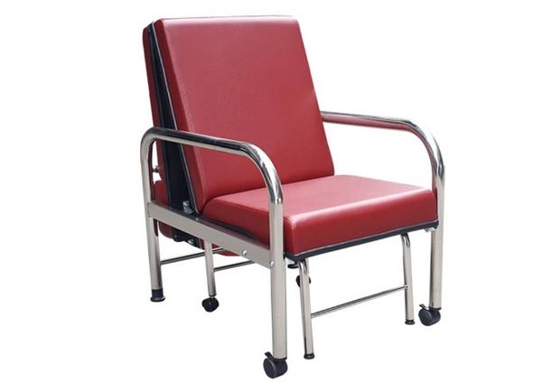 坐臥兩用陪伴床椅(不鏽鋼)YH017