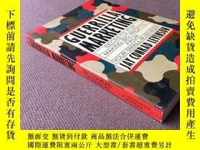 二手書博民逛書店Guerrilla罕見marketing: secrets fo