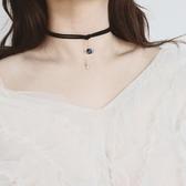 頸帶 浩瀚星球choker短款鎖骨鍊女頸帶個性小眾項圈少女脖子飾品頸鍊女 3色
