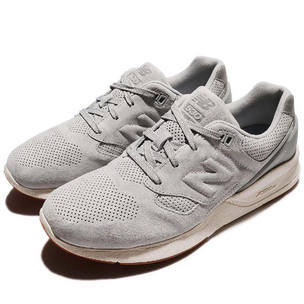 New Balance 休閒鞋 530 NB 灰 白 麂皮 運動鞋 舒適緩震 男鞋【PUMP306】 MRL530SGD