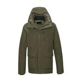 [Mountneer] 山林 (男) 防水保暖羽絨外套 橄綠 (22J15-68)