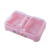 肥皂盒帶蓋雙格 洗衣皂盒瀝水肥皂盒香皂盒大號便攜多層有蓋雙層旅行~ 出貨八折鉅惠~