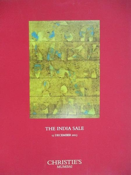 【書寶二手書T9/收藏_DZL】Christie s_The India Sale_2015/12/15
