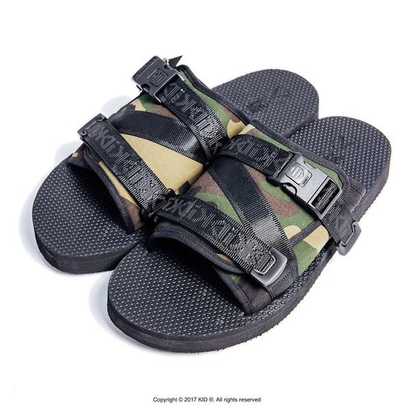 KID ® Outdoor Sandal 戶外拖鞋 迷彩 (野人系列)