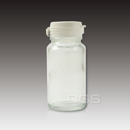 《台製》透明玻璃瓶 Clear Glass Bottle with Safety Seal