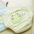 GMP BABY 青蛙超吸排純棉紗寶寶學習褲 黃 XS703