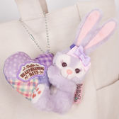 PGS7 日本迪士尼系列商品 - 迪士尼樂園 限定 暖心 小吊飾 Stella兔 兔兔 兔子 情人節【SKD80059】