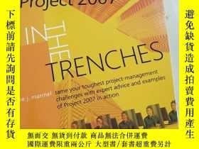 二手書博民逛書店In罕見the Trenches with MicrosoftR Office Project 2007Y40
