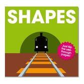【Patrick George透明膠片書 】SHAPES...《主題: 基礎學習/形狀》