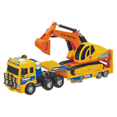 【 DAESUNG 】摩輪運輸車 + 挖土機╭★ JOYBUS玩具百貨
