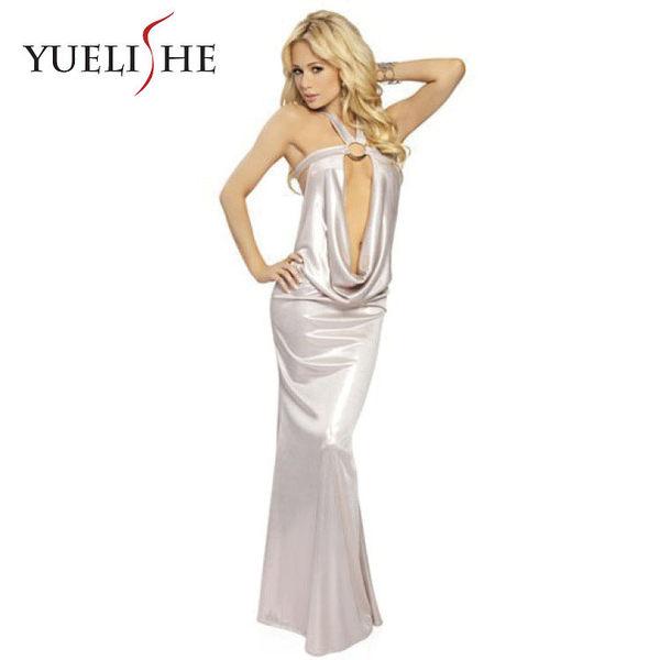 ♥♥衣美姬♥性感三色禮服 深V領露美背 氣質長裙 派對 宴會 晚禮服 性感連身長裙