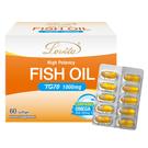 Lovita愛維他 專利TG型深海魚油腸溶膠囊1000mg(70%omega3 高濃度 魚油軟膠囊 濃縮魚油)